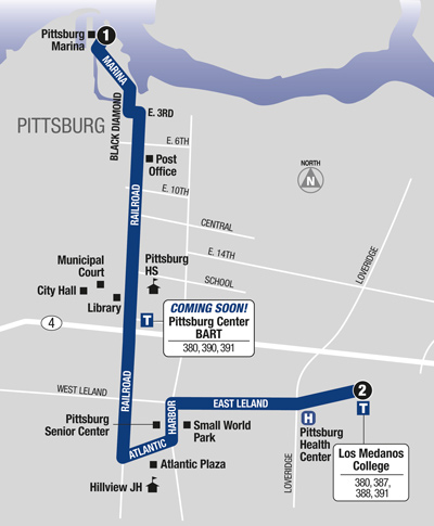 Route 381 Map